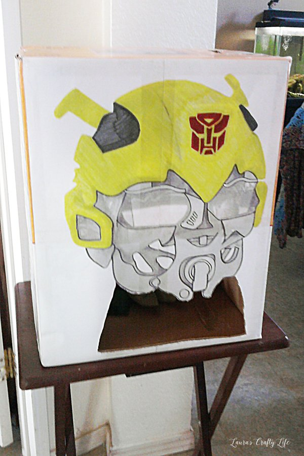 Transformer Cake And Party Laura S Crafty Life
