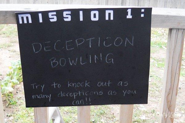 Decepticon Bowling