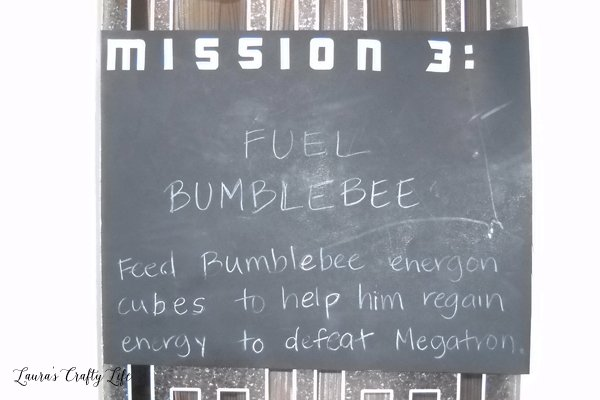 Feed Bumblebee energon cubes game