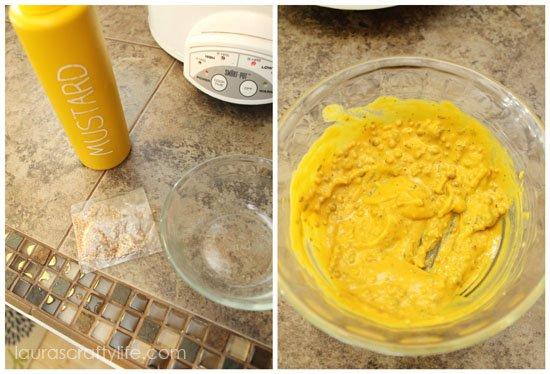mustard mixture