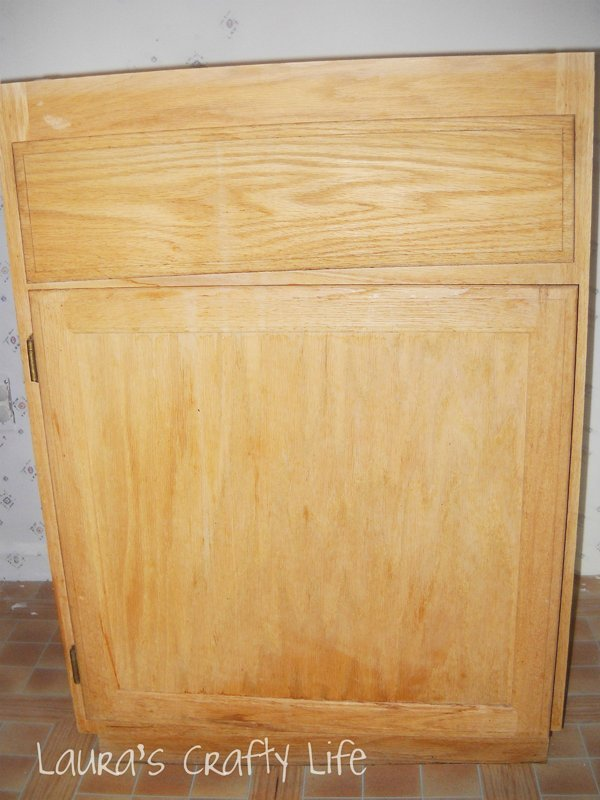 unfinished cabinet