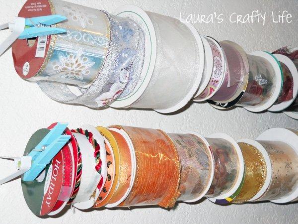 ribbon storage before