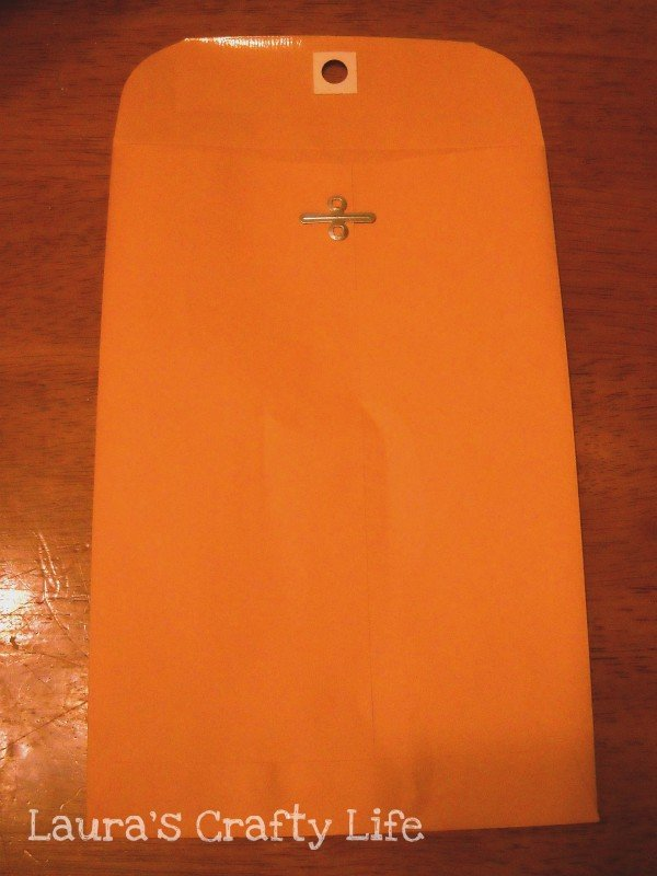 Small manila envelope