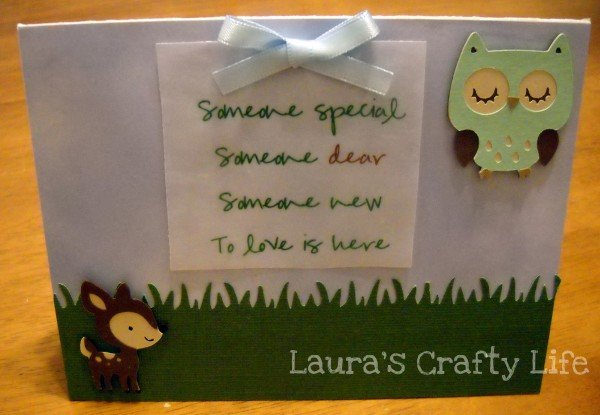 Enchanted Forest Baby Shower Invitation - Lauras Crafty Life