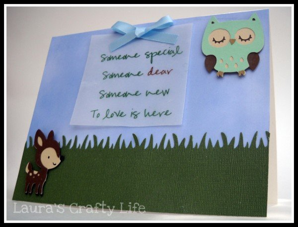 Enchanted Forest Baby Shower Invitation