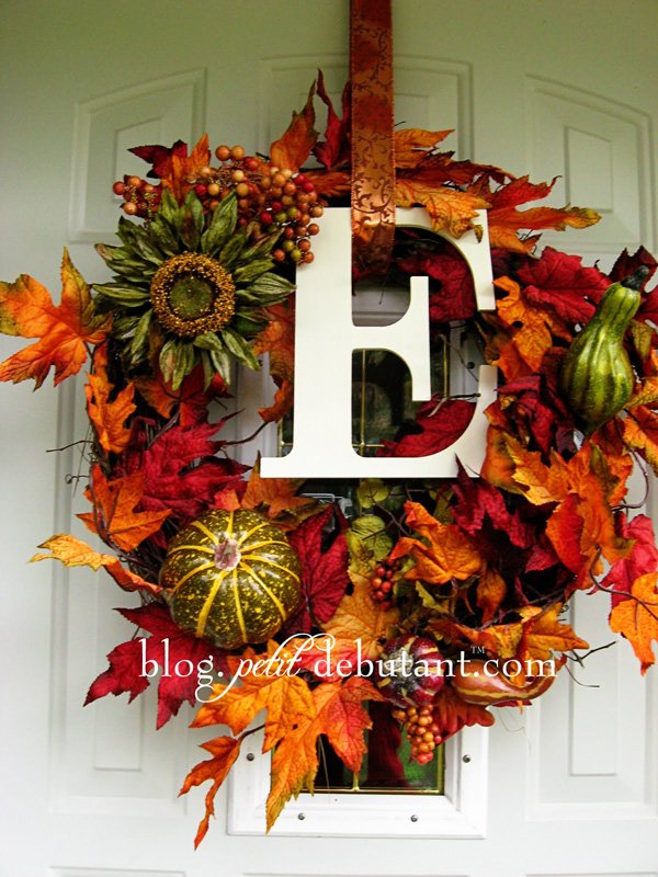 Petit Design Co. - Fall Wreath