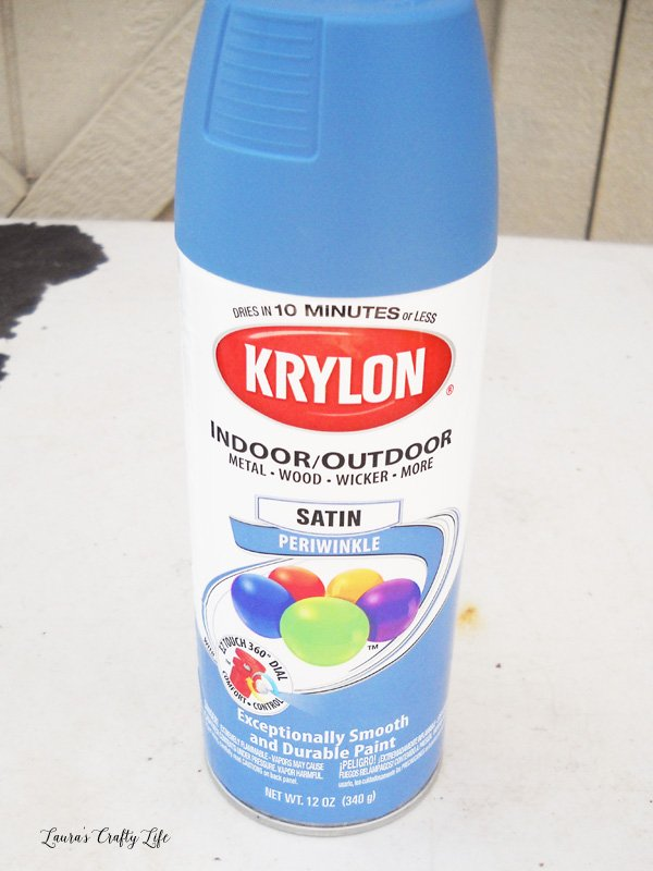 Krylon Satin Periwinkle spray paint