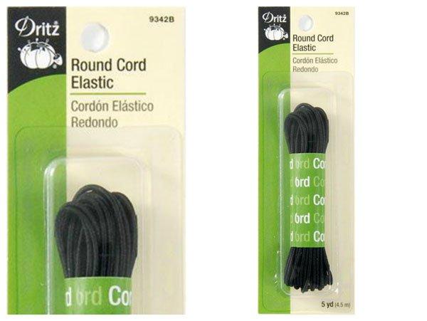 Dritz Round Cord Elastic