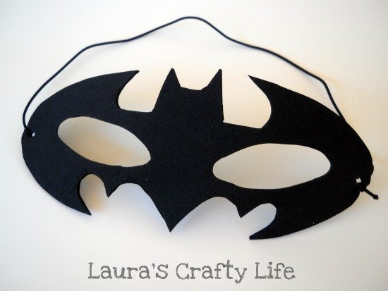 How To Batman Mask Laura S Crafty Life