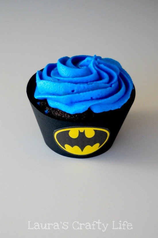 Batman Cucpake Liner