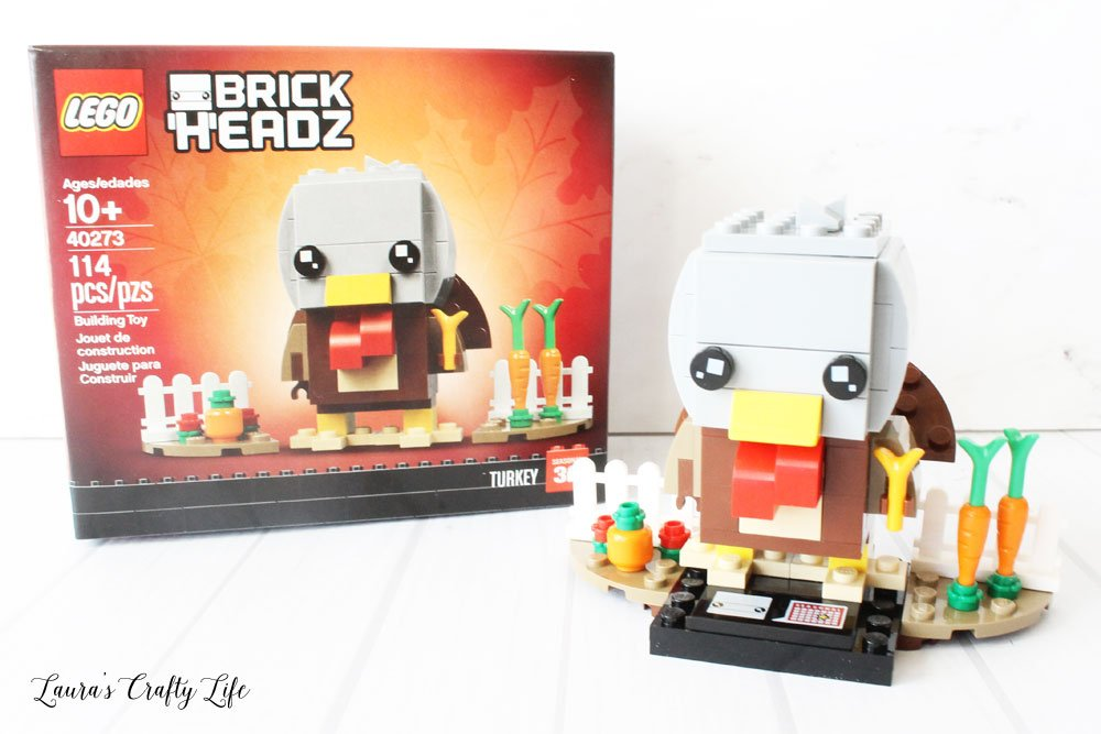 LEGO Thanksgiving Turkey Brick Headz