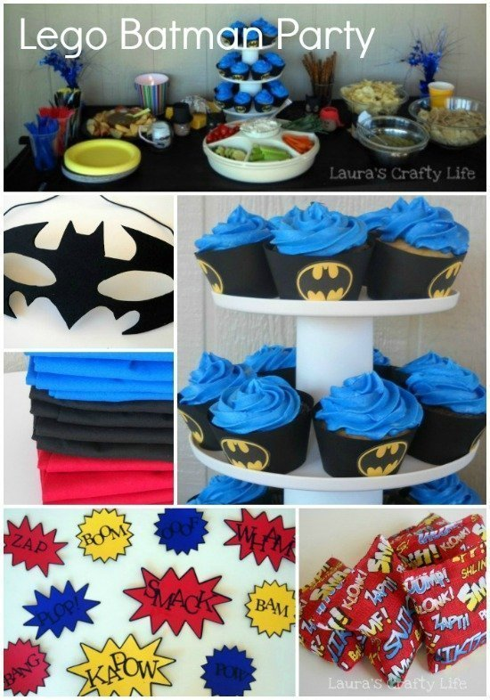 Lego Batman Party Laura S Crafty Life