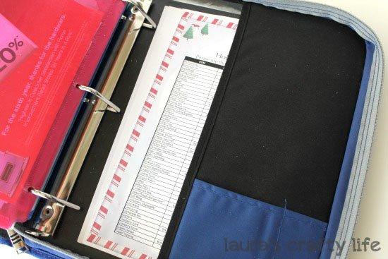 Coupon binder price sheet