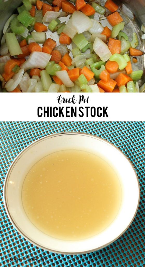 Crock Pot Chicken Stock - delicious homemade recipe