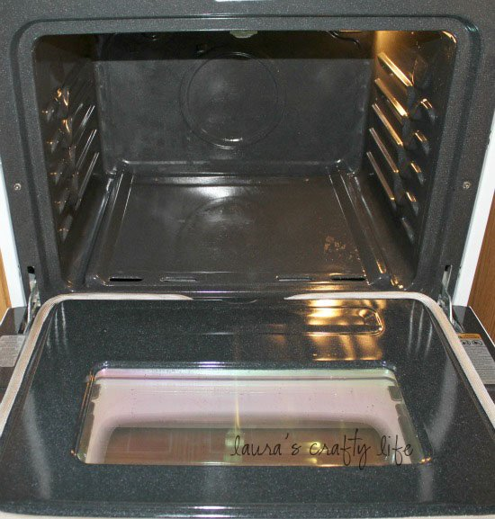 Clean the inside of your oven