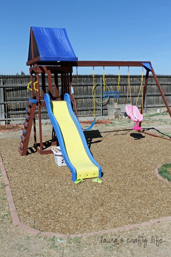 swing set renovation