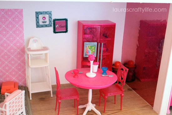 Barbie house kitchen