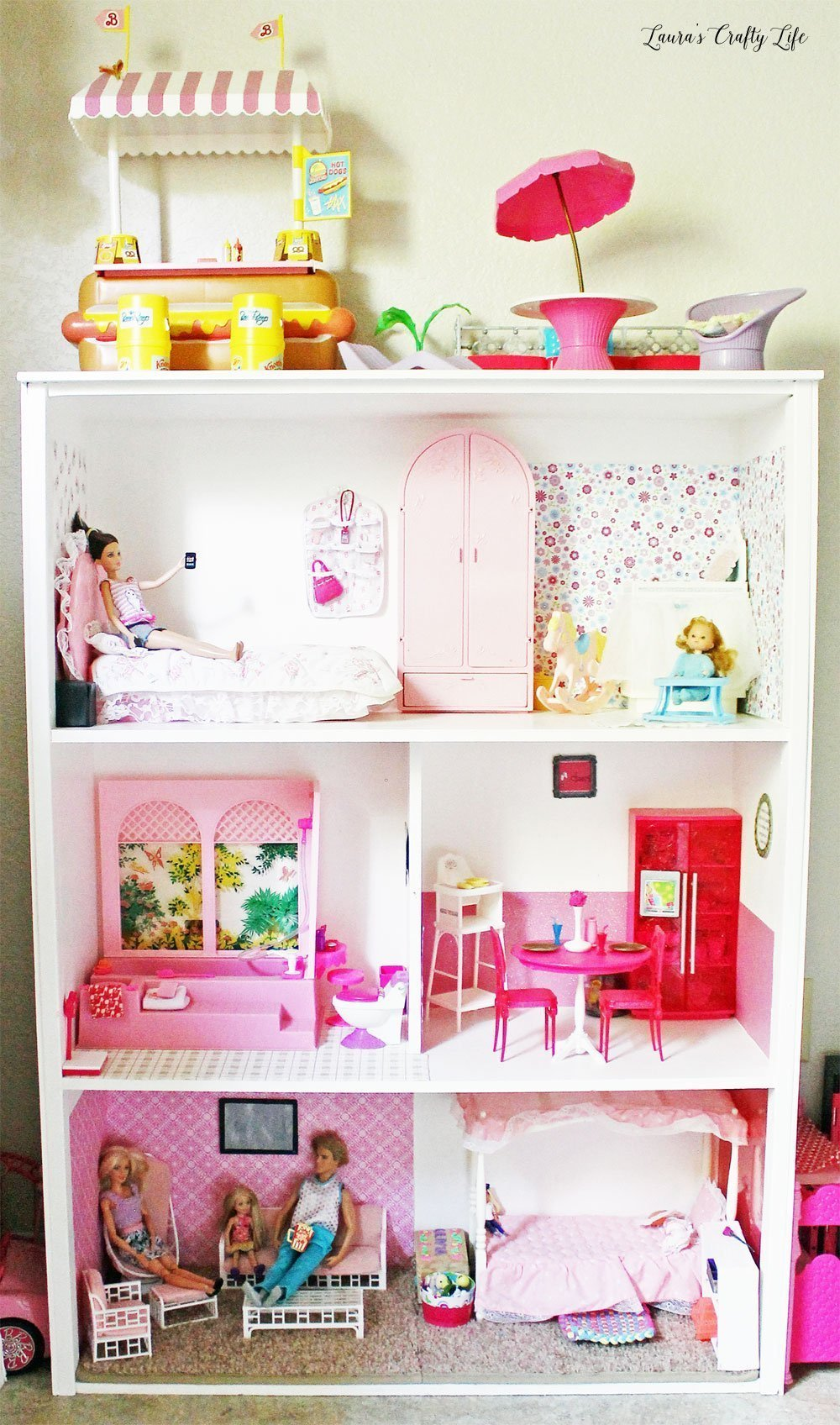 DIY Barbie House build plans
