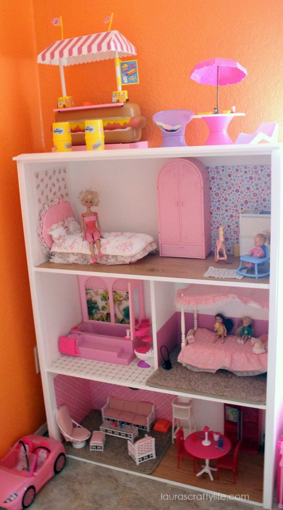 Handmade Barbie house build