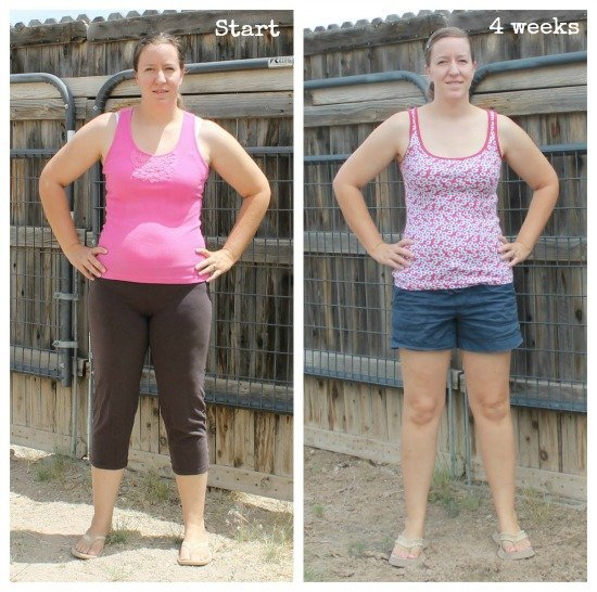4 week weight loss