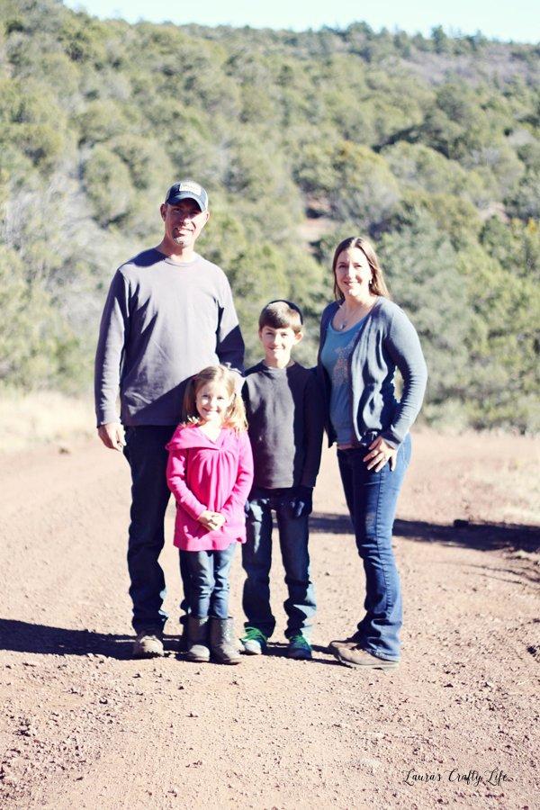 Family Photo 2015- Laura's Crafty Life