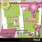 Friday Freebie: My Memories CD Envelope {7/27}
