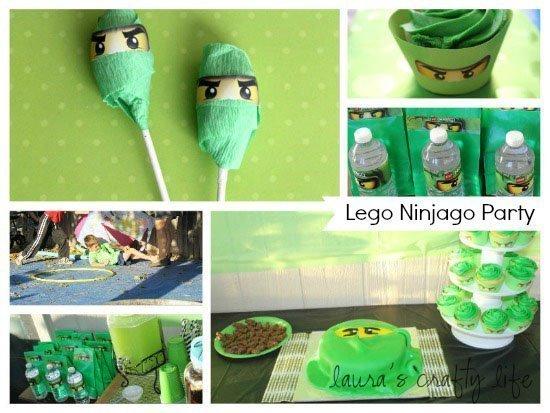 Lego Ninjago Party - Laura's Crafty Life
