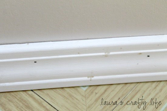 Day 29: Clean Baseboards