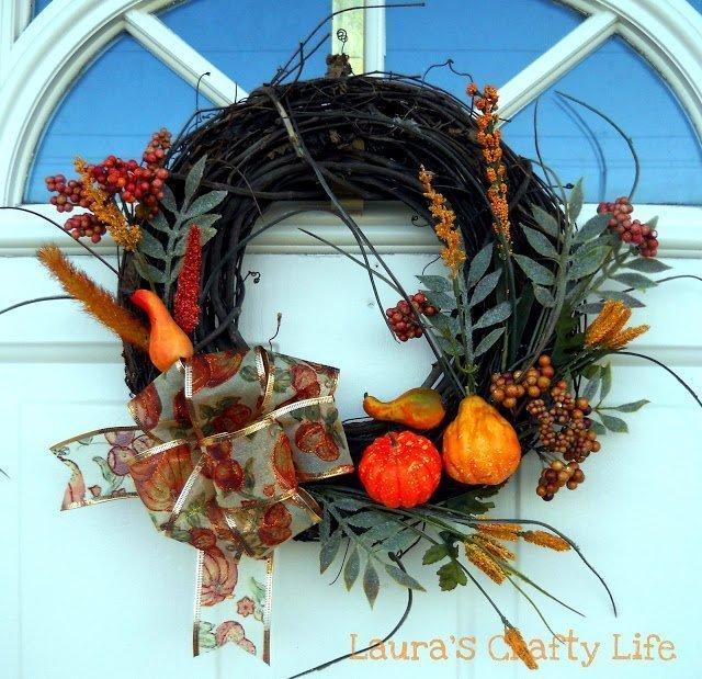 Fall Wreath {Redone}