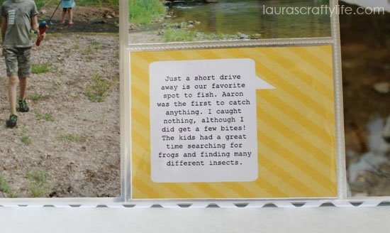 journaling card summer lovin digit kit