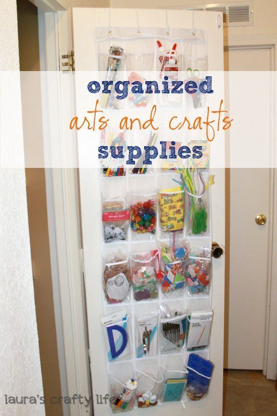 Kids Arts And Crafts Storage Small Space