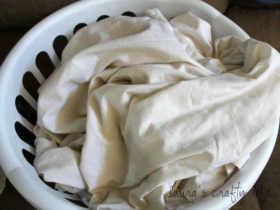 day 15 wash bedding laura 39 s crafty life. Black Bedroom Furniture Sets. Home Design Ideas