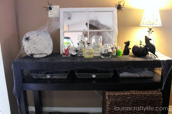 Halloween Decor Display