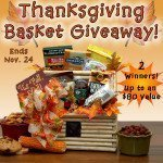 Thanksgiving gift basket giveaway