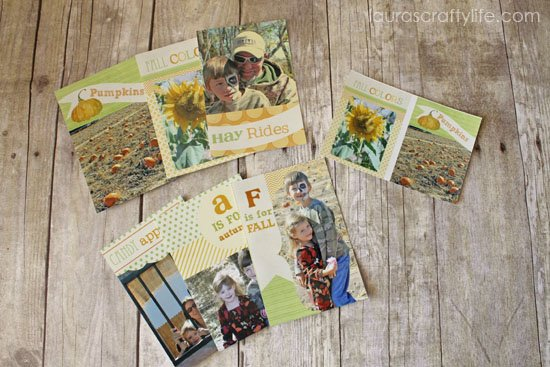 printed harvest photo minis