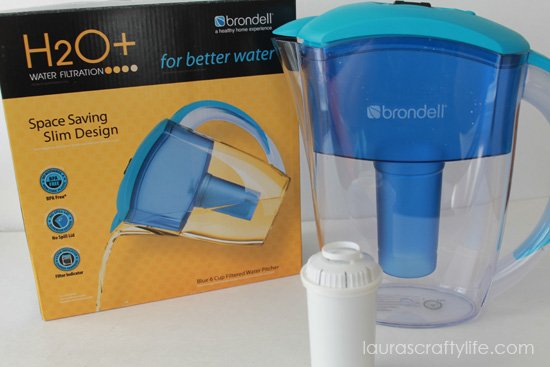 Brondell water pitcher