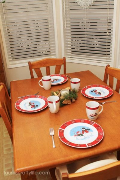 Christmas holiday dishes