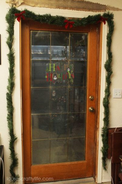 back door garland