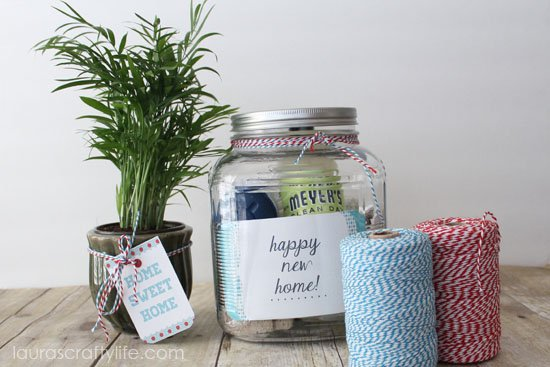 Housewarming present laura 39 s crafty life - Return gifts for housewarming party ...