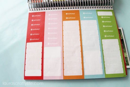 stickers Erin Condren planner