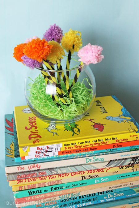 Dr Suess books with truffula trees