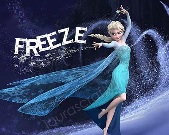 Freeze dance Elsa game