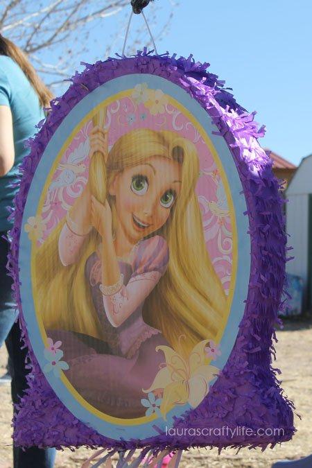 Tangled Rapunzel pinata
