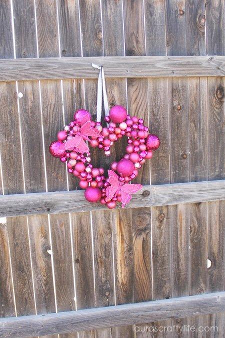 Valentine Ornament Wreath