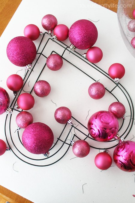 add medium sized ornaments next