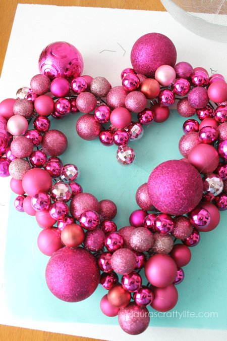 finished ornament wreath