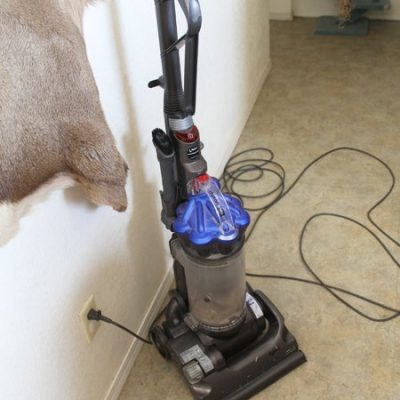 Quick vacuum every night