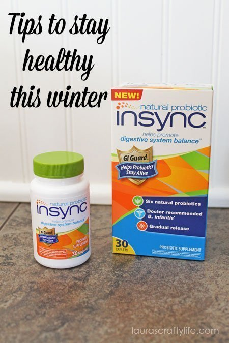Staying Healthy this Winter with #NaturalProbiotics #shop