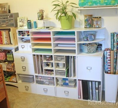 Recollections storage cubes from Michaels
