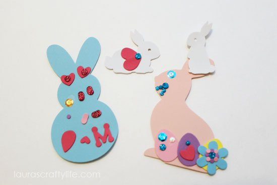 M's Easter crafts